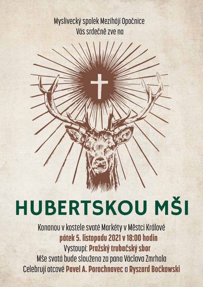 Hubertská mše 5. listopadu